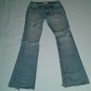 Abercrombie & Fitch Worn Distressed Jeans 2